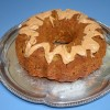 Pumpkin Apple Cake made with Honey
