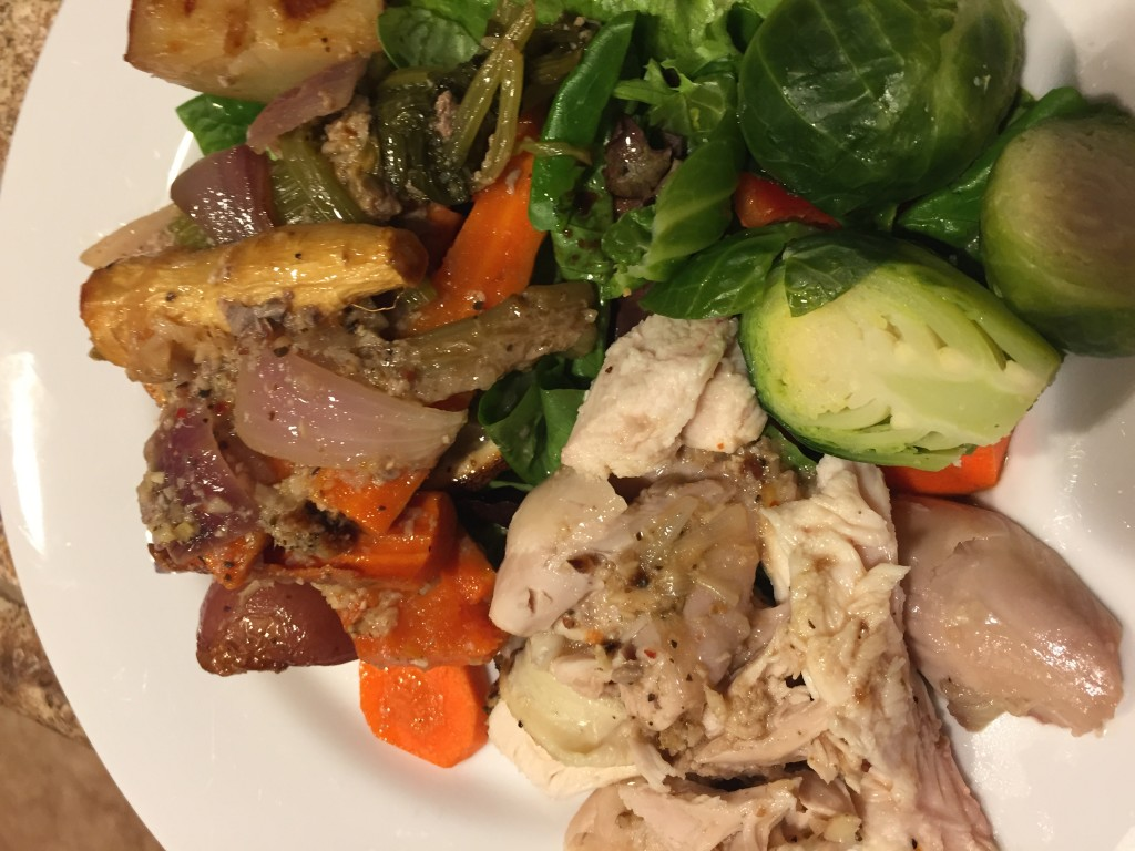 Roasted Lemon Chicken with Root Vegetables